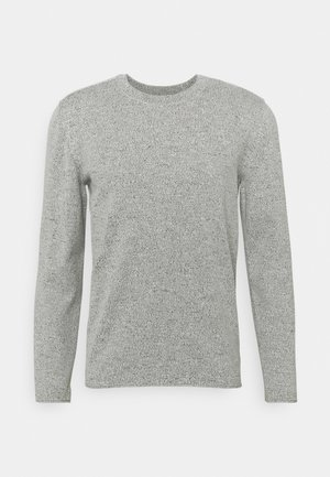 LONG SLEEVE CREW NECK STRUCTURE CHANGE ON THE BACK - Strickpullover - multi/egg white