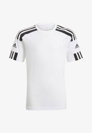 SQUAD UNISEX - T-shirt z nadrukiem - white/black
