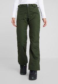 Rojo - PANT - Pantaloni da neve - kombu green - 0