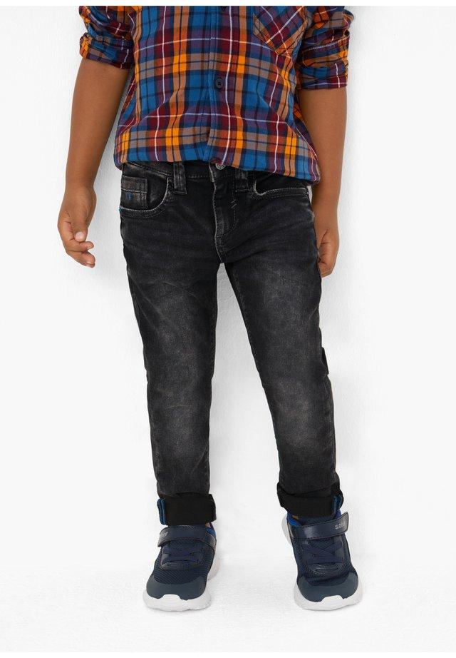 MIT SLIM LEG - Slim fit jeans - dark grey