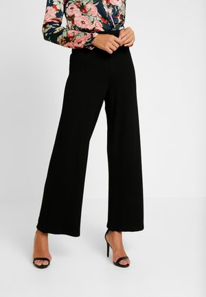 RIAN TROUSERS - Stoffhose - black