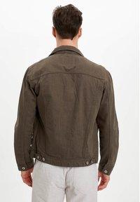 DeFacto - Denim jacket - green - 2
