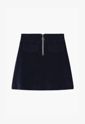 TEEN GIRLS - A-line skirt - navy blazer