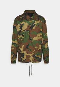 Polo Ralph Lauren - PLAINWEAVE COACH'S JACKET - Summer jacket - khaki - 0
