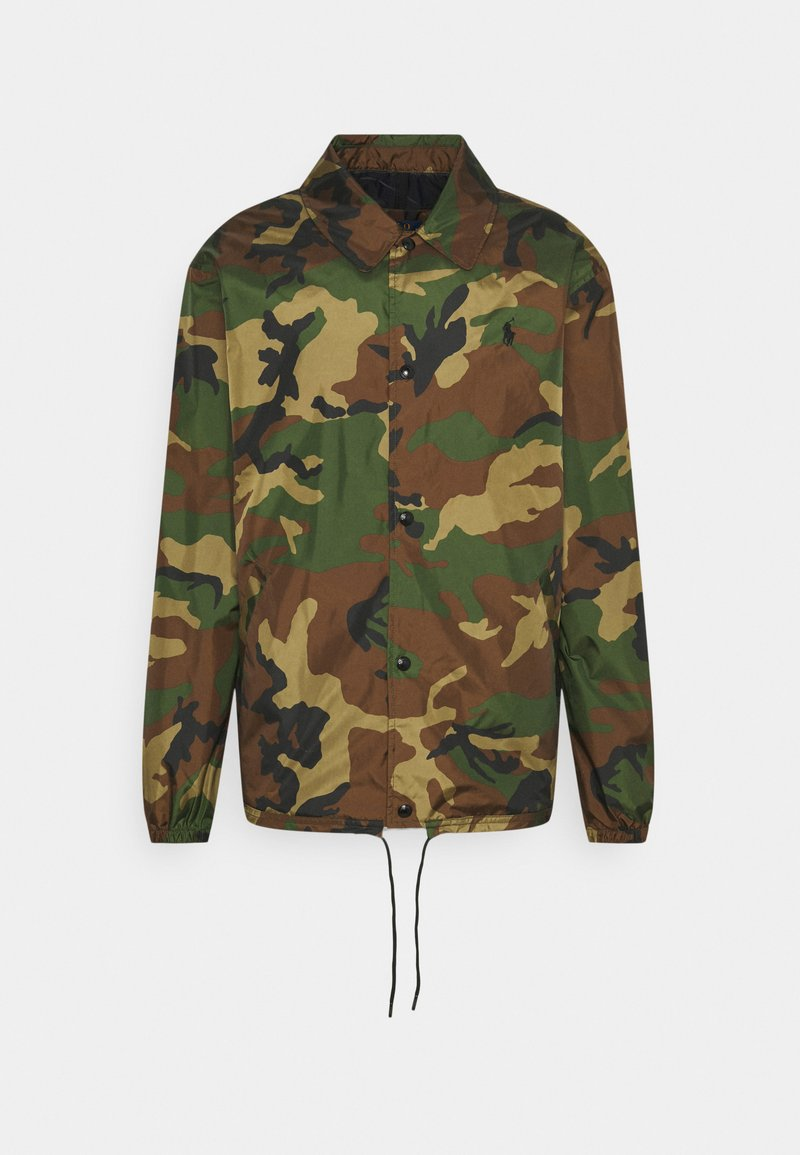 Polo Ralph Lauren - PLAINWEAVE COACH'S JACKET - Summer jacket - khaki