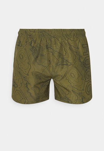 SAIKAI - Swimming shorts - open green