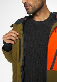 Quiksilver - CORDILLERA - Snowboard jacket - military olive - 4