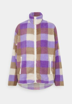 GAIA - Summer jacket - purple/beige
