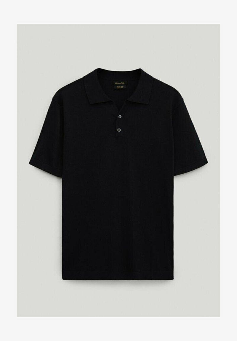 Massimo Dutti - Poloshirt - black