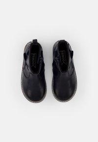 Friboo - LEATHER BOOTIES - Botines - dark blue - 3