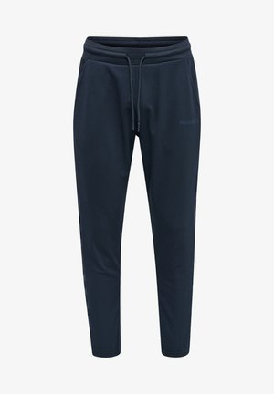LEGACY POLY TAPERED - Tracksuit bottoms - blue nights