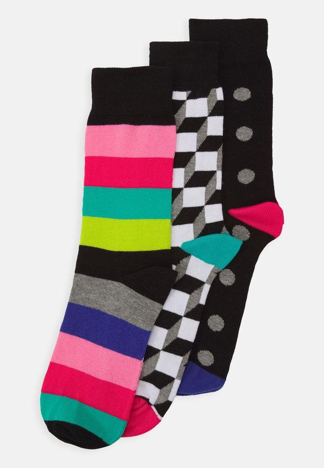 MENS SOCK CANTON 3 PACK - Ponožky - multi-coloured