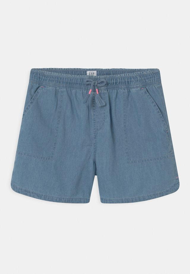 GIRL - Shorts - light-blue denim