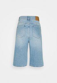 JUST FEMALE - BAY BERMUDA - Denim shorts - light waterblue - 7
