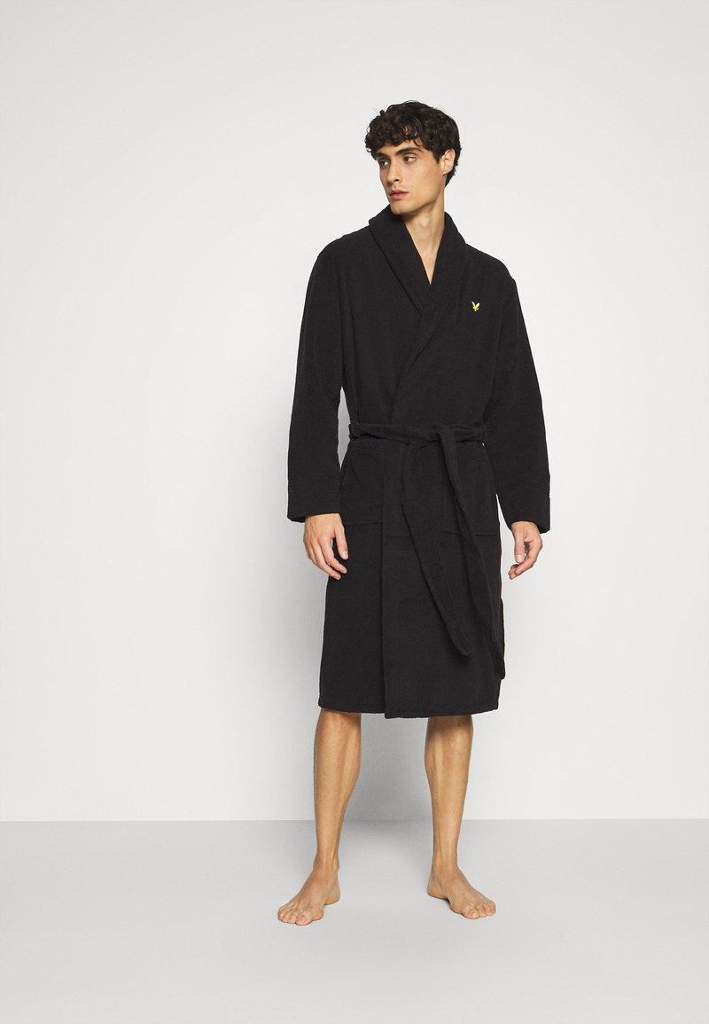 Lyle & Scott - LUCAS - Dressing gown - black