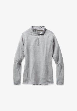 LIGHTWEIGHT 150 BASELAYER 1/4 ZIP - Sweatshirt - light gray heather