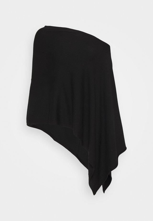 PONCHO SPECIAL - Kapper - black