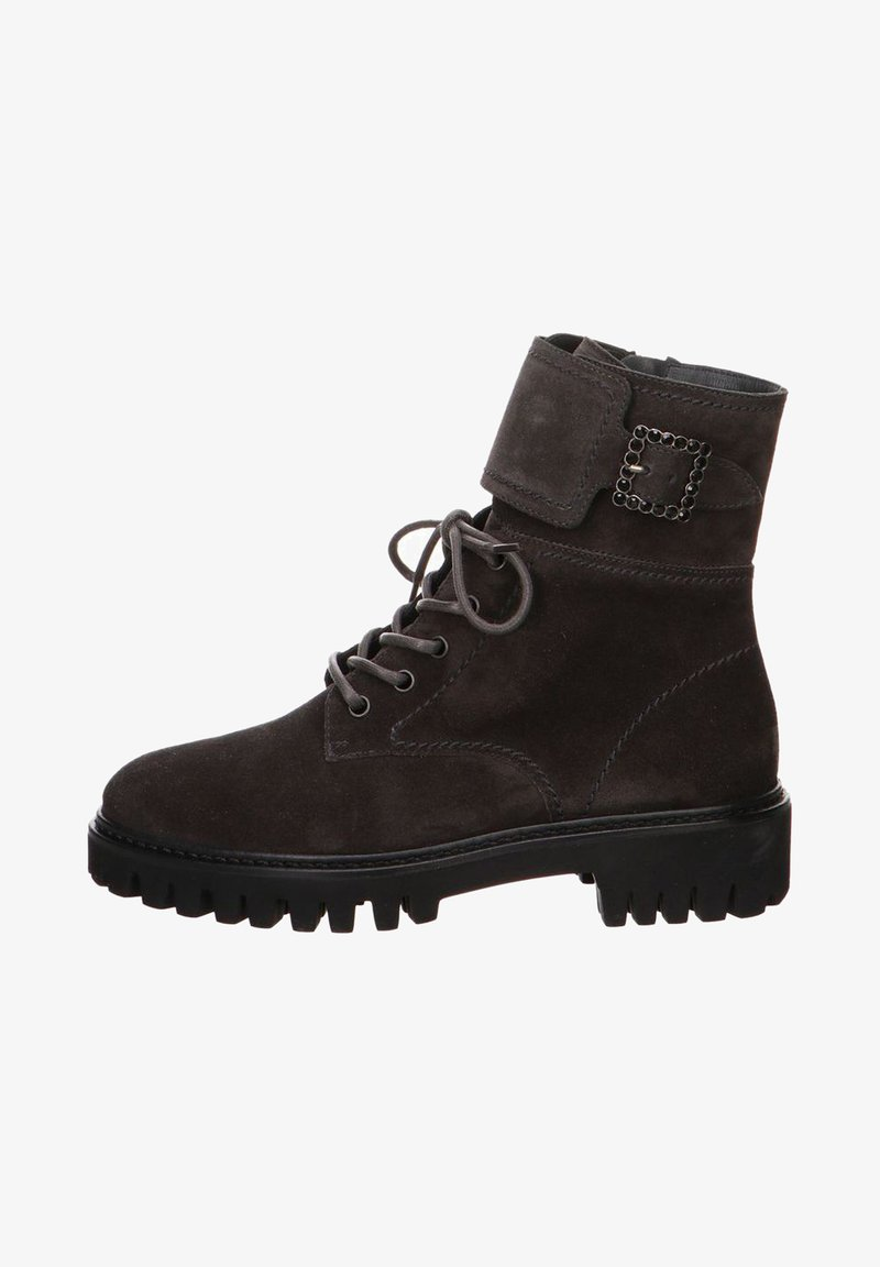 Think! - Lace-up ankle boots - grau