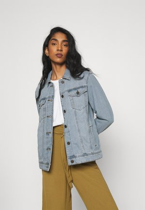 NMOLE JACKET - Jeansjakke - light blue denim