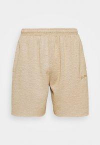 JOGGER UNISEX - Shorts - mustard