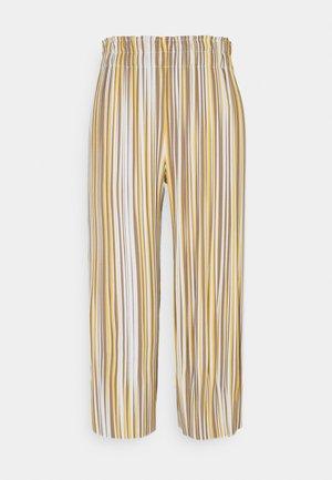 STRIPED PANTS - Bukse - sunflower