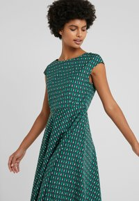 WEEKEND MaxMara - PIREO - Day dress - dark green/white/black - 4