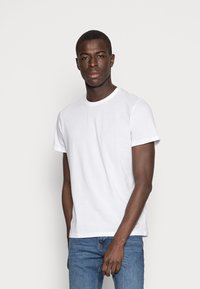 TOM TAILOR - DOUBLE PACK CREW NECK TEE - T-shirt - bas - white - 1