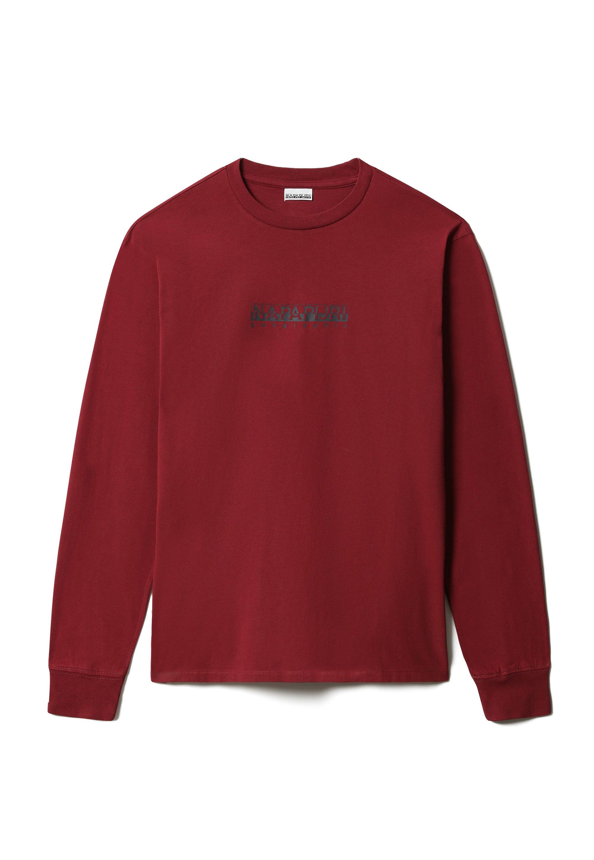 Herrer S-BOX LS - Langærmede T-shirts