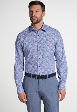 FITTED WAIST - Shirt - blue