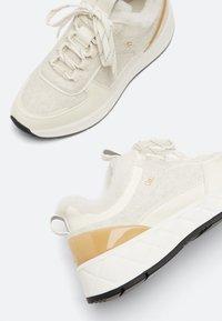 Uterqüe - Sneakers laag - white - 3
