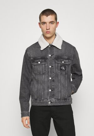 REGULAR JACKET UNISEX - Denim jacket - denim grey