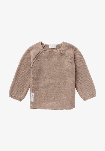 PINO - Sweatshirt - taupe melange
