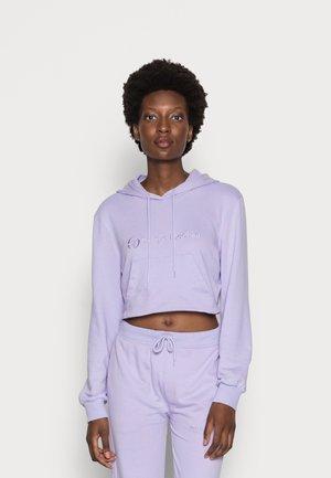 ALINA CROPPED HOODIE - Sweatshirt - lavender