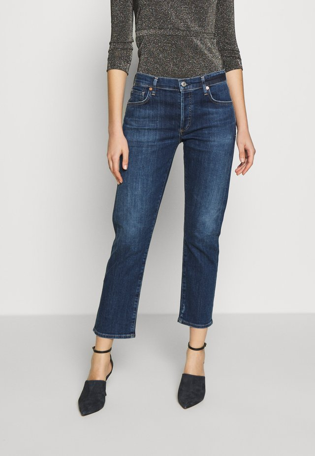 EMERSON BOYFRIEND - Relaxed fit jeans - dark-blue denim