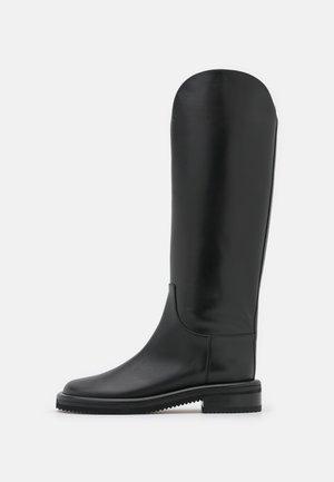 PIPE RIDING BOOTS - Botas - black