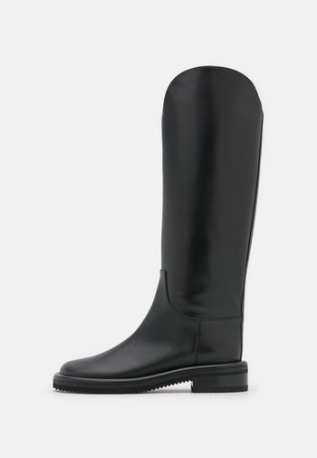 PIPE RIDING BOOTS - Saappaat - black