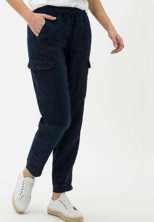 STYLE MAREEN - Pantalon cargo - navy