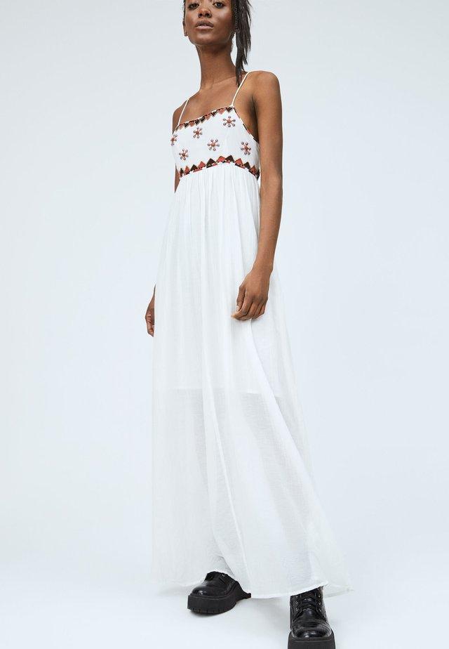 ADRIANA - Vestido largo - mousse