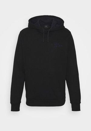 HOODY CRAYONS UNISEX - Bluza z kapturem - black