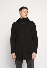 Only & Sons - ONSJACOB KING DUFFLE COAT - Classic coat - black - 0