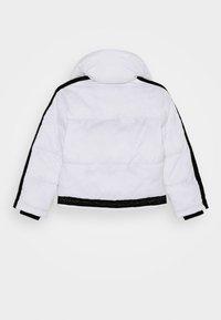 KARL LAGERFELD - PUFFER JACKET - Zimní bunda - white/black - 1