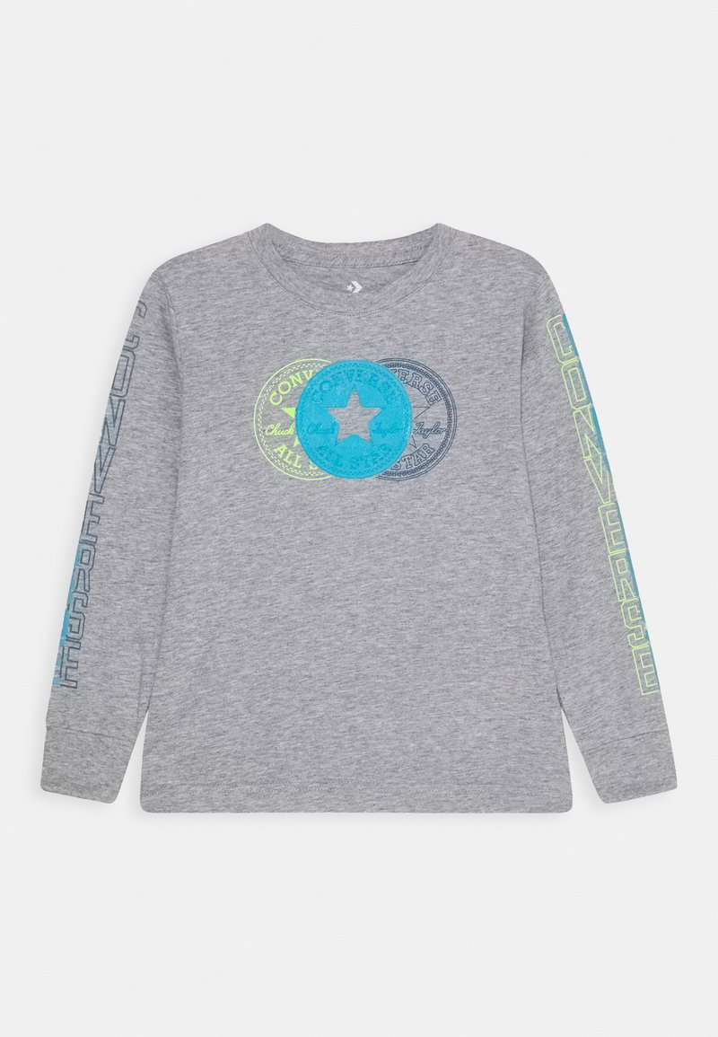 Converse - COLLEGIATE VERTICAL - Bluzka z długim rękawem - grey heather