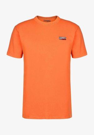 TJM WASHED LOGO TEE - Basic T-shirt - orange