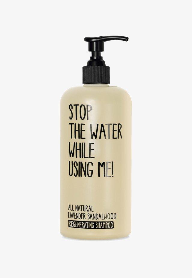 SHAMPOO - Shampoing - lavender sandalwood regenerating