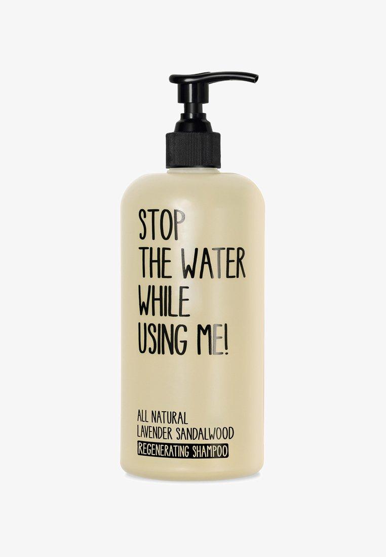 STOP THE WATER WHILE USING ME! - SHAMPOO - Shampoo - lavender sandalwood regenerating