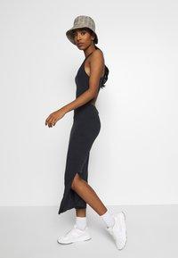 Superdry - ARIZONA CROSS BACK MIDI DRESS - Maxi dress - black - 1