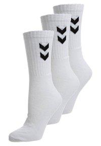Hummel - BASIC 3 PACK - Sports socks - white - 0