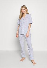Triumph - MIX & MATCH TROUSERS - Pyjamasbukse - blue light combination - 1