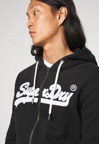 Superdry - ZIPHOOD - Zip-up hoodie - black - 5