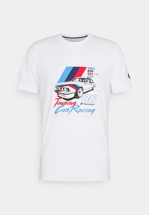 BMW VINTAGE TEE - T-shirt med print - white